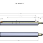 HCP 100 - 50 x 720