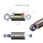 HCP 125 x 80-900