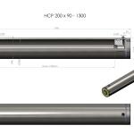 HCP 200 x 90-1300