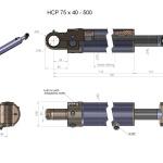 HCP 75 x 40-500